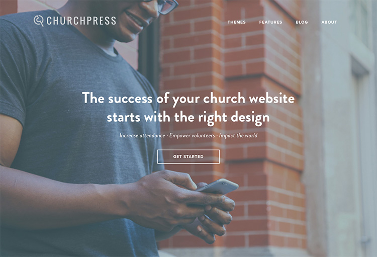 ChurchPress.co Screen Capture