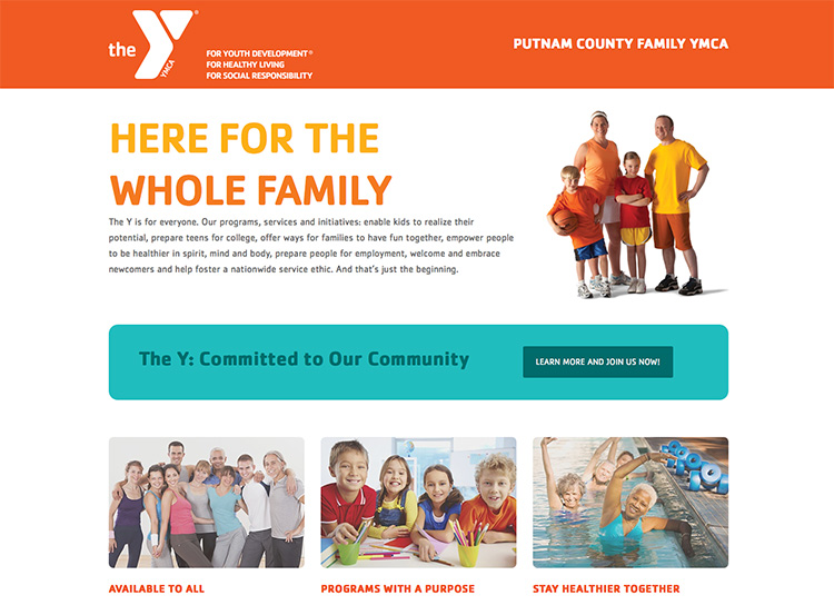 Putnam County Family YMCA Homepage