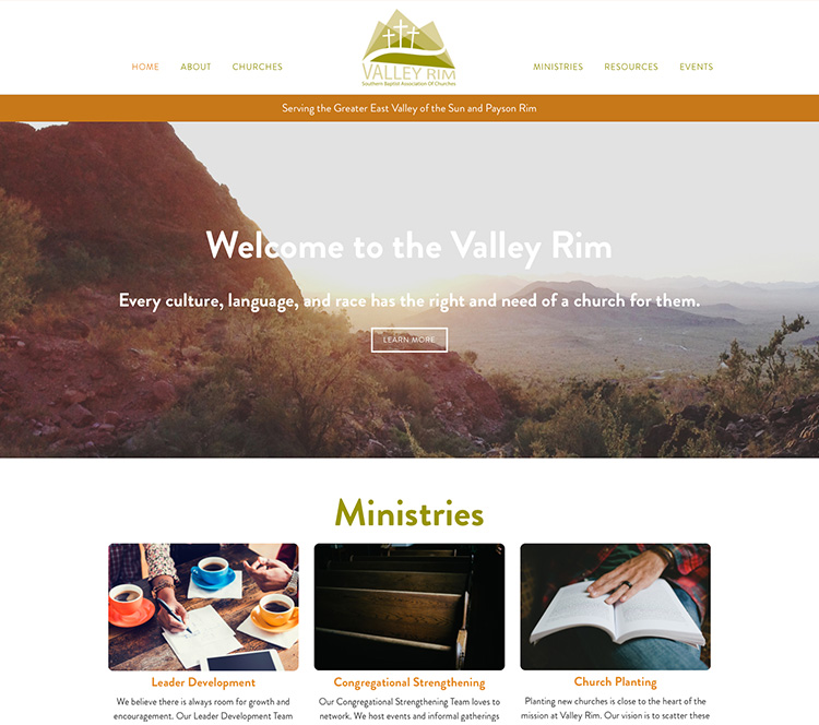 Valley Rim SBA Homepage